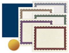 Certificate Kit  -  25 pack