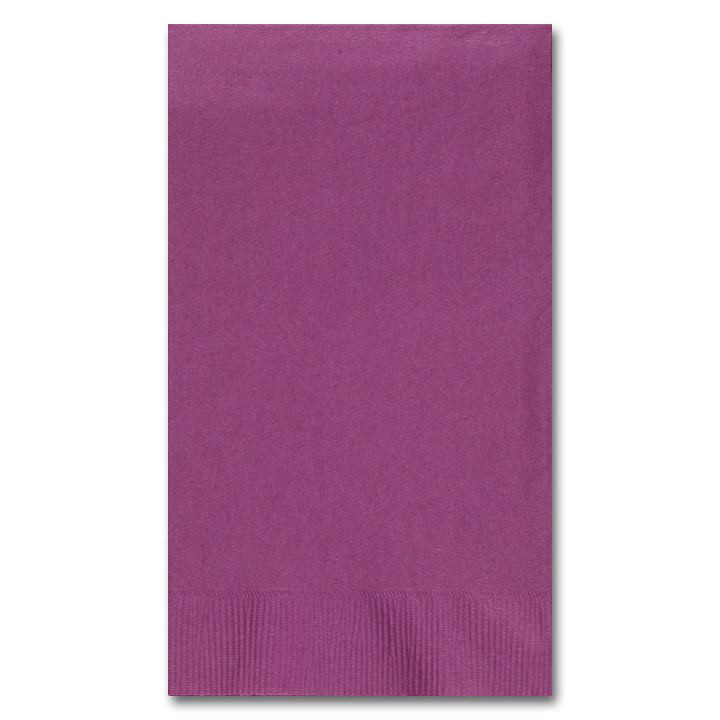 Plum Guest Towel