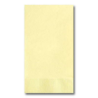 Pastel Yellow Guest Towel