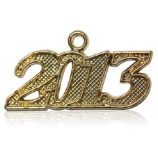 Year 2013 Drop Date Signet for Graduation Tassel
