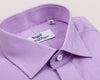B2B Shirts - Pink Violet Soft Purple Striped Formal Business Dress Shirt Designer Fashion - Business to Business