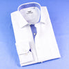 New Arrival White Twill With Inner Lining Formal Business Dress Luxury Fashion