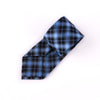 "Blue London Novelty 3"" Necktie Business Formal Elegance Check Tie On Regent Street"