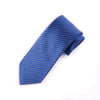"Blue Herringbone Woven 3"" Necktie Business Formal Elegance For Smart Men's Ego"