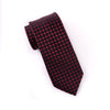 "Burgundy Basket Woven 3"" Necktie Business Elegance  For Professional Formal Ego"