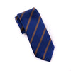 "Navy Blue Stripe 3"" Necktie Business Elegance  For Professional Formal Ego"