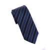 Black, Gary Italian Stripe Necktie Business Formal Elegance For Smart Men's Ego