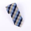 "Multi Colors Backetweave GQ Designer Tie Men's Skinny Necktie 3"" 7.5cm Knot"