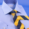 Black & Yellow Sexy Formal Business Striped 3 Inch Tie Mens Professional Fashion