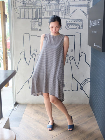 Mezza Asymmetric Dress