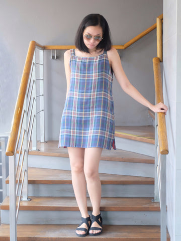 5 Minutes - Dress - Julian Reversible Flannel Dress