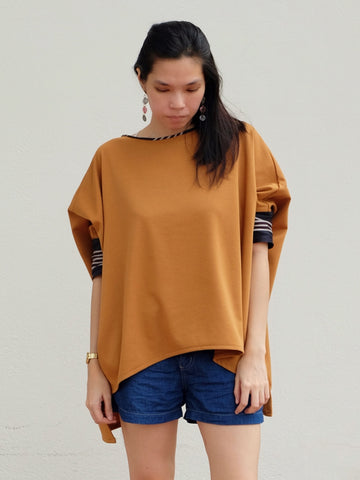Largo Oversized Cape Top