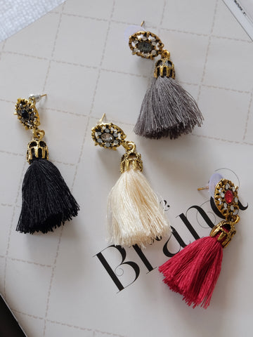Sablier Tassel Earrings