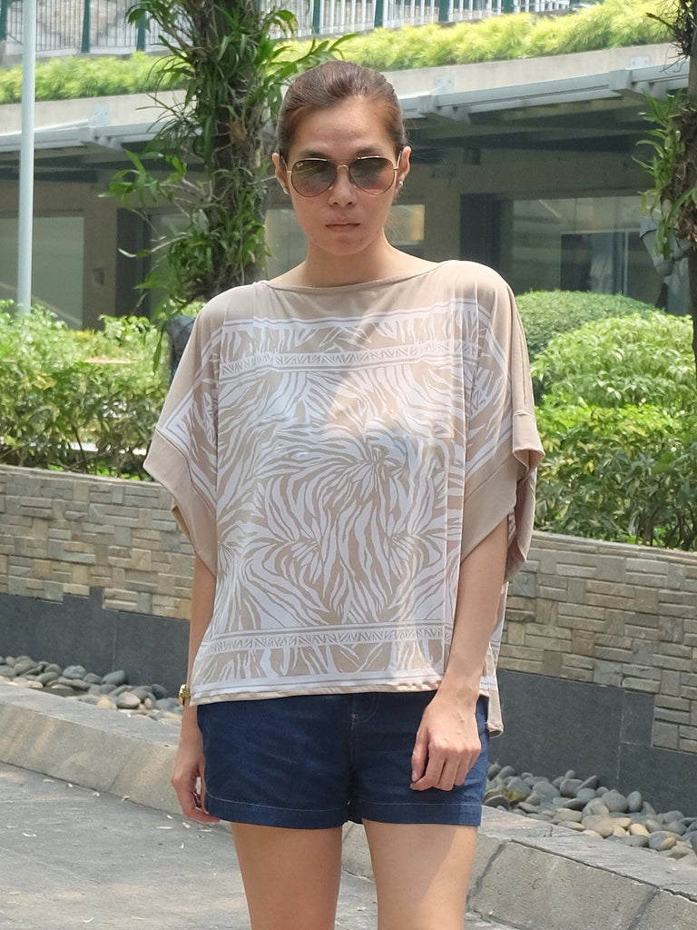 Ada Printed Square Top