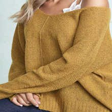 Mustard Snuggly Sweater