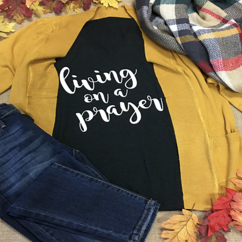 Living On A Prayer Tee