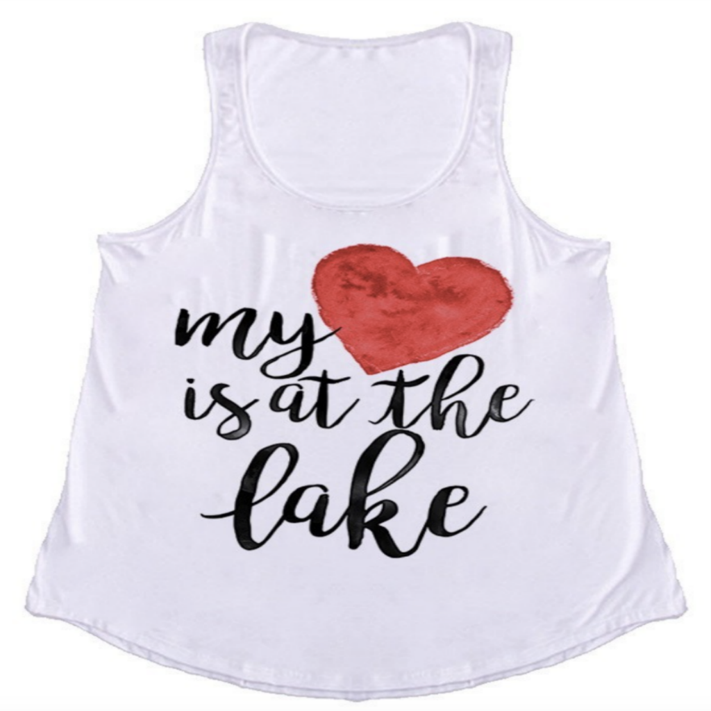 Heart Is At The Lake Tank