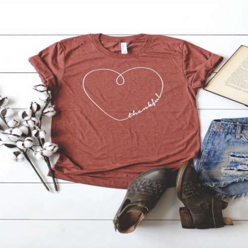 Thankful Heart Tee