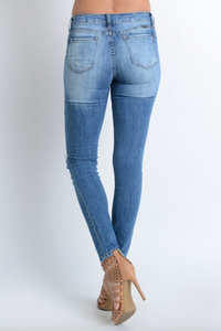 KanCan Destructed Skinny Jean