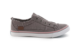 Play - Steel Grey Color Washed Cozumel Linen