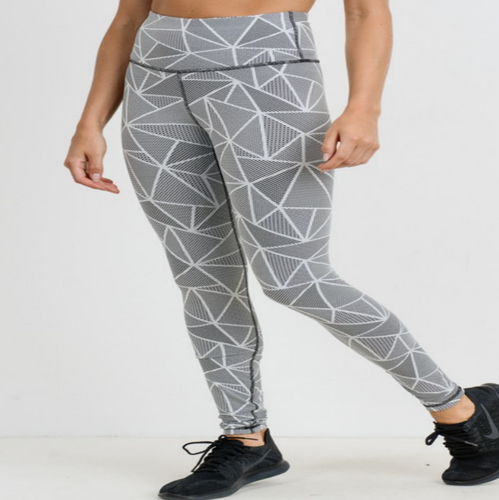Mosaic Print Leggings
