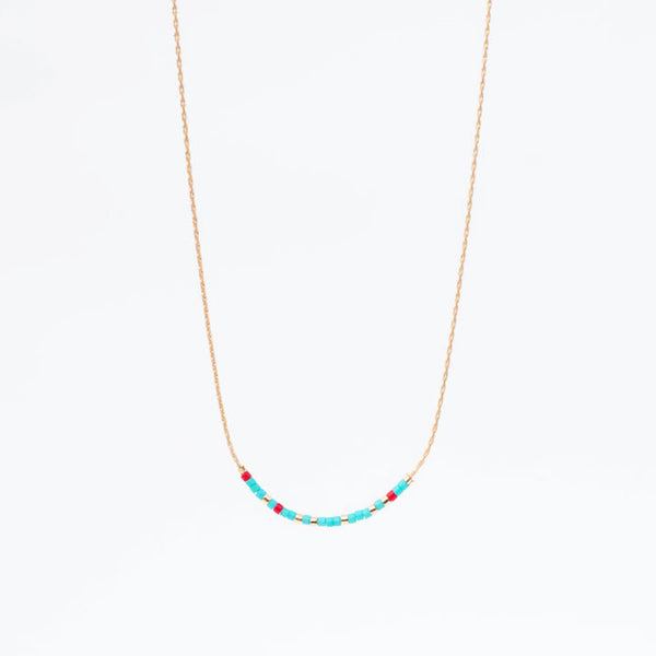 Morse Code Necklace - Blessed - Linger Boutique