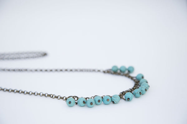 Beaded Drop Necklace - Linger Boutique