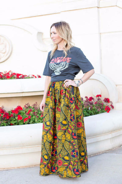 Artisan Apparel Maxi Skirt - Linger Boutique