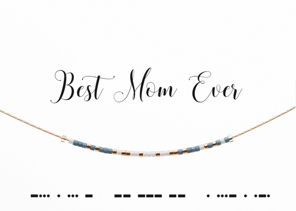 Morse Code Necklace - Mother's Day Collection - Linger Boutique