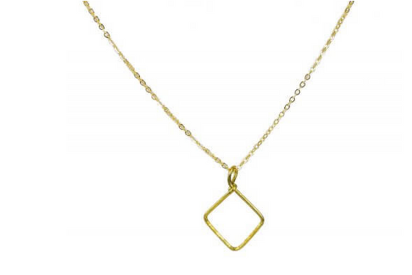 Short Gold Brave Necklace - Linger Boutique