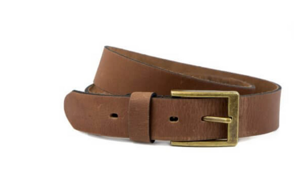 Leather Belt in Chesnut