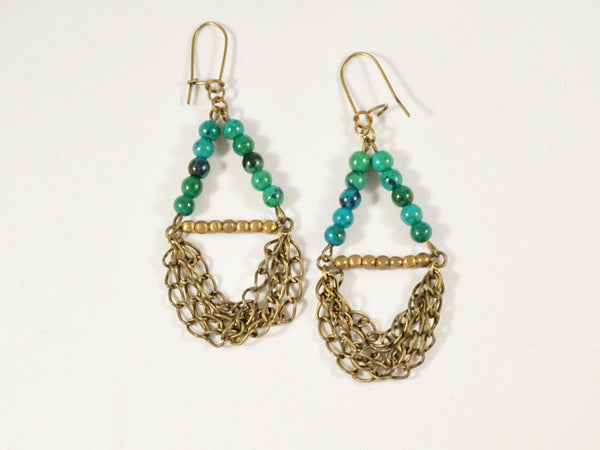 Bronzed Earrings - Linger Boutique
