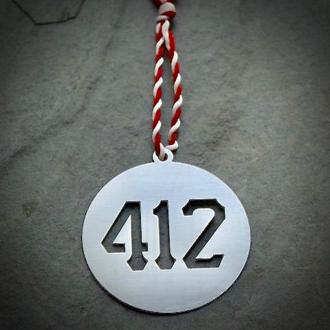 Ornament - 412 - Pittsburgh Area Code