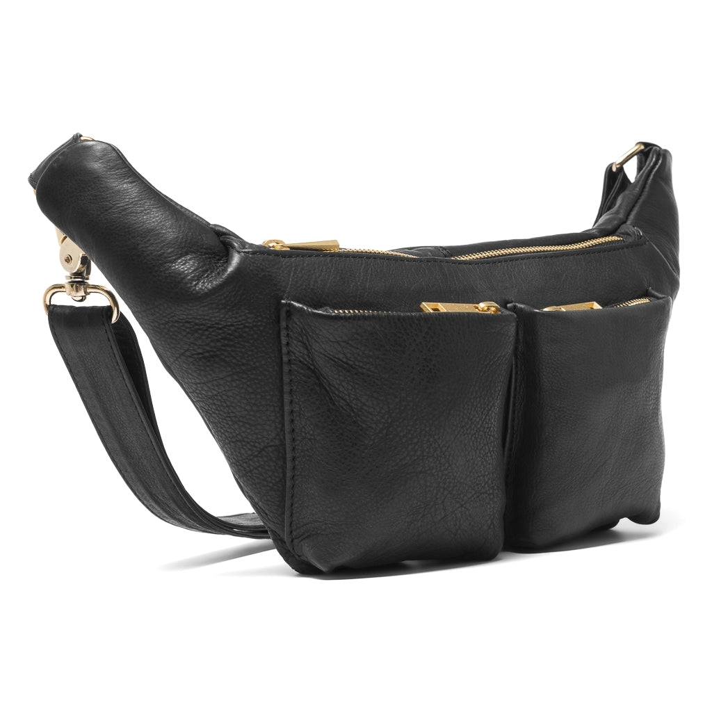 DEPECHE Bumbag Bum bag 099 Black (Nero)