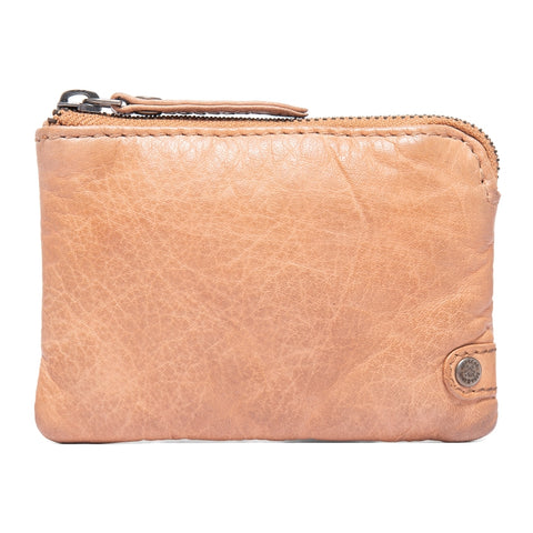 DEPECHE Credit card holder Purse 163 Light tan