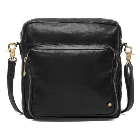 Large crossbody bag wiig golden details / 14584