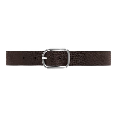 Jeans belt in nice leather quality / 14684