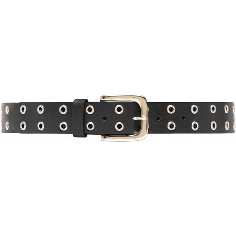 Narrow belt in soft leather quality / 14662