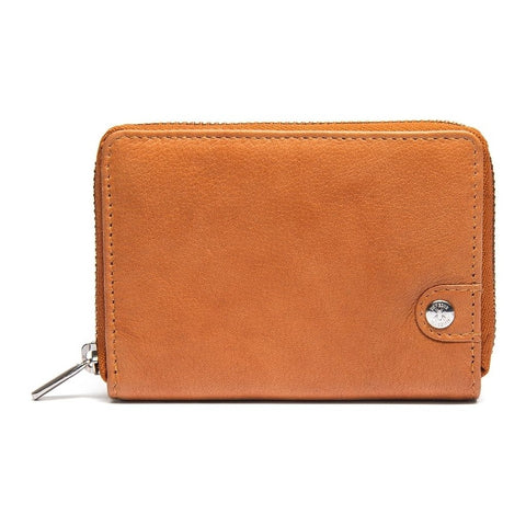 Small purse in mix of smooth leather and suede / 14328