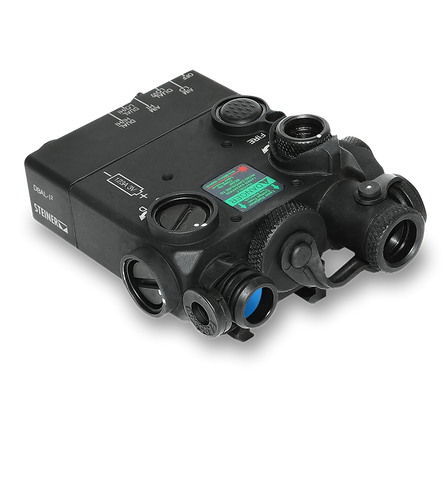 DBAL-I2 : Dual Beam Aiming Laser Intelligent (BLACK w/GREEN LASER)
