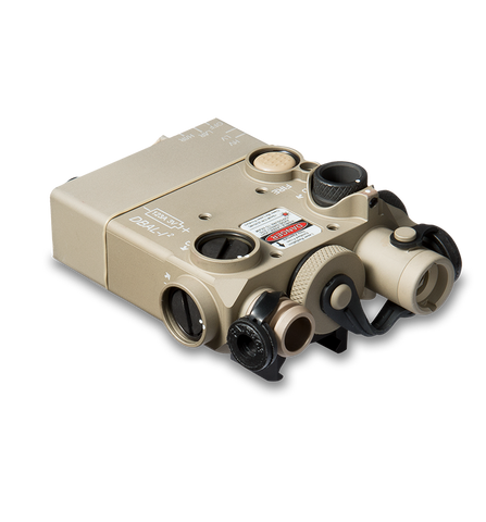 DBAL-I2 : Dual Beam Aiming Laser Intelligent (DESERT SAND w/RED LASER)