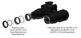 Replacement Kit - Two Covers & Six Extra Lenses for PVS-15