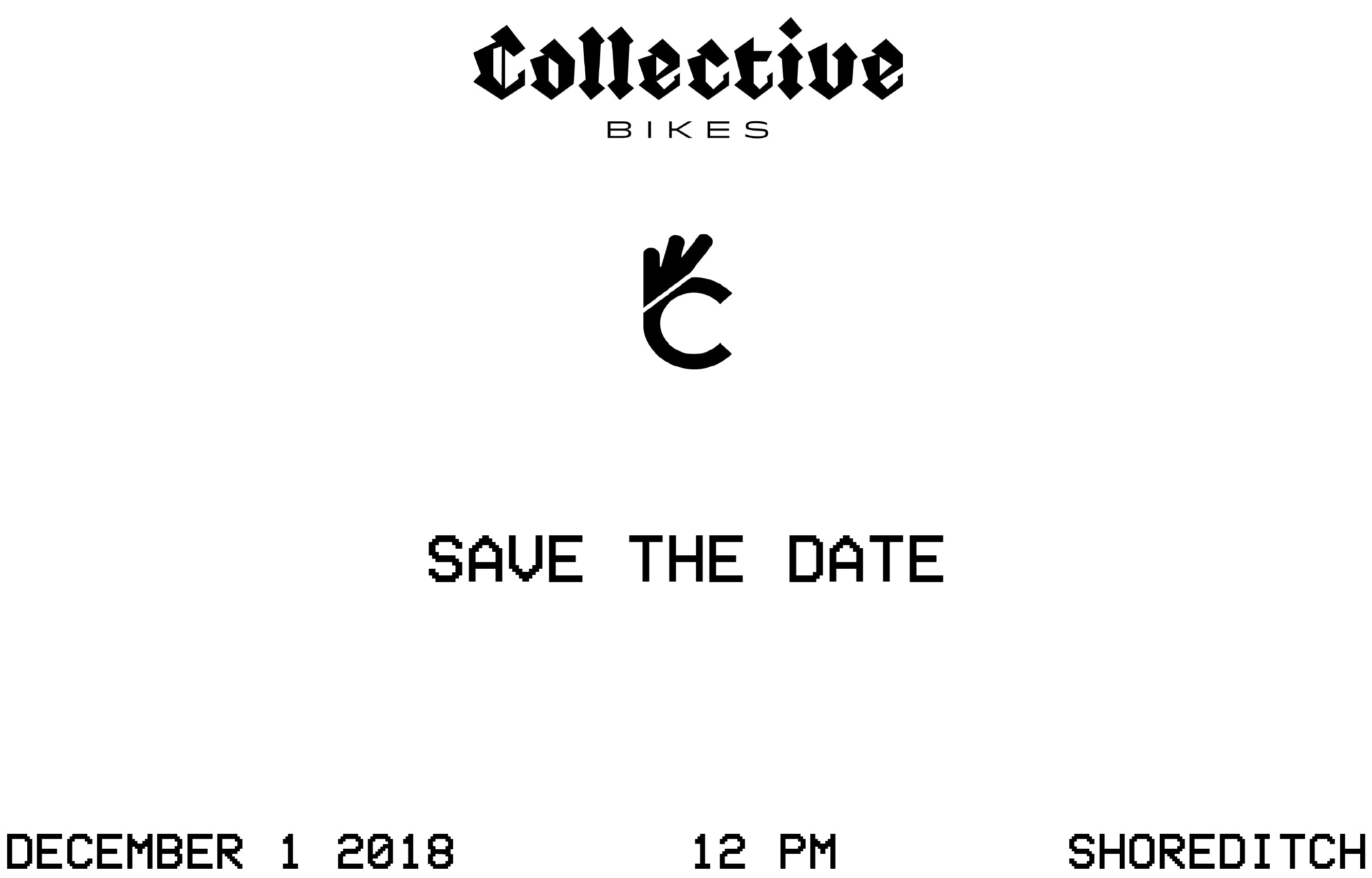 COLLECTIVE BIKES EVENT - DECEMBER 1ST