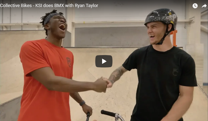 KSI does BMX with Ryan Taylor