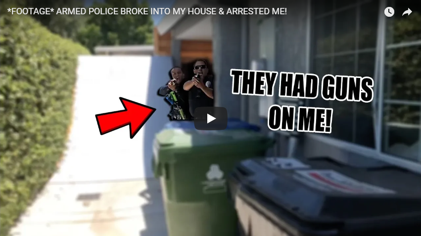 ARMED POLICE BROKE INTO RYANS HOUSE & ARRESTED HIM!