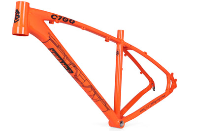 COLLECTIVE C100 PRO FRAME - ORANGE - Collective Bikes