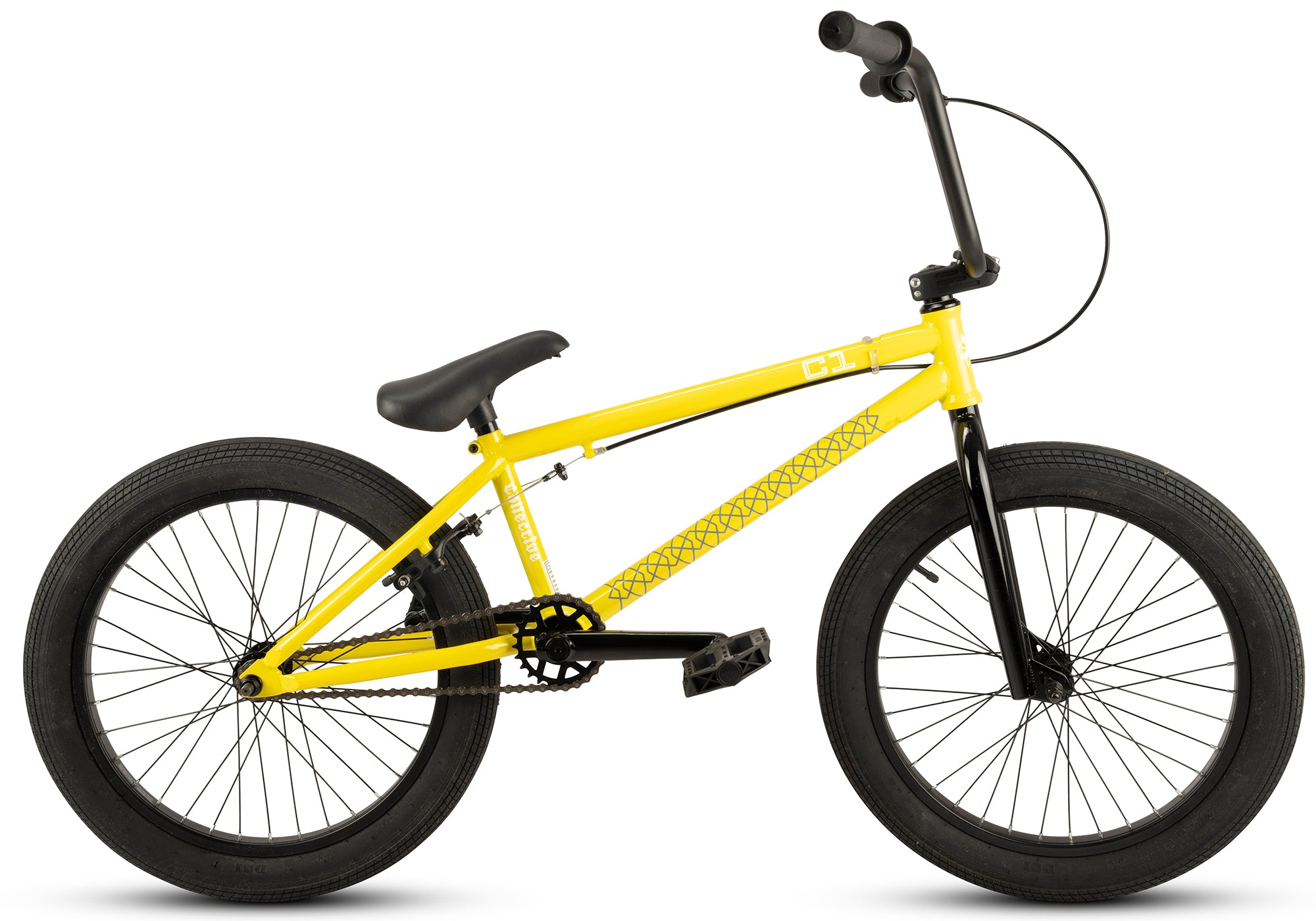 Collective C1 Complete BMX Yellow - Collective Bikes