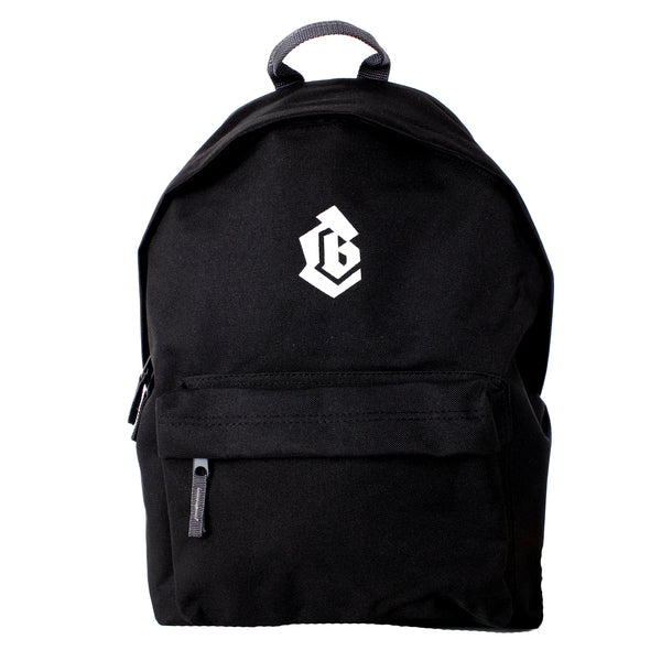 COLLECTIVE BIKES 'LOGO' BACK PACK - BLACK AND WHITE - Collective Bikes