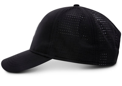 MONOGRAM CAP - WHITE ON BLACK