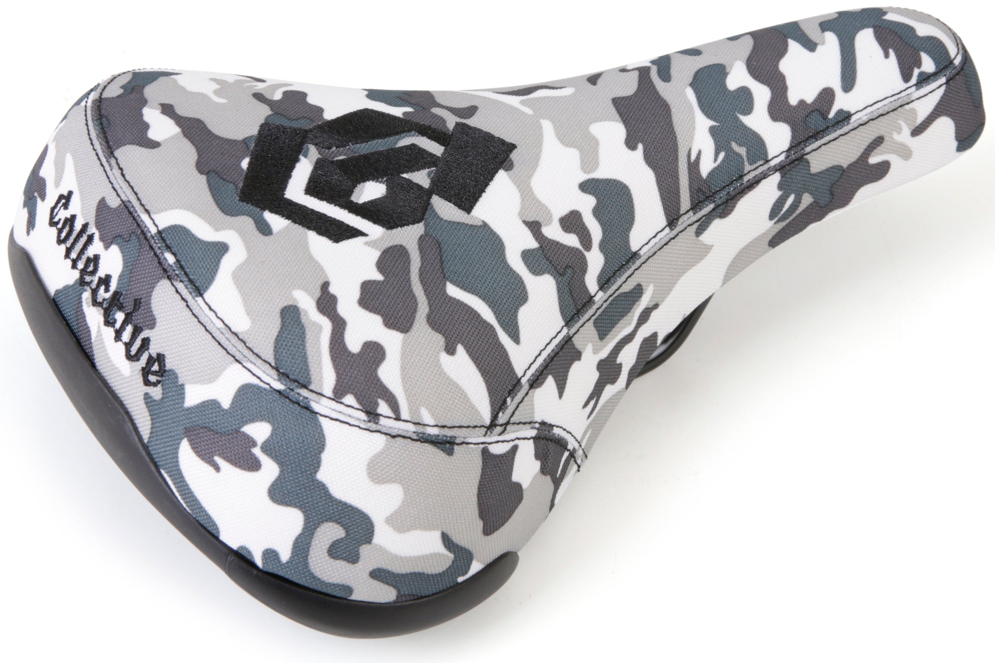 Collective Bikes MONOGRAM SEAT - SNOW CAMO